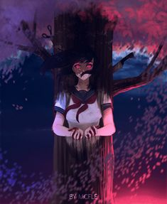 The Hanging Tree Male Yandere, Yandere Manga, Yandere Girl, Animes Yandere, Tsundere, Yendere Simulator, Yandere Simulator Characters, Film Manga, Psycho Girl
