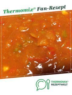 Zigeunersoße, Schaschliksoße, Paprikasoße von favorel. Ein Thermomix ® Rezept aus der Kategorie Saucen/Dips/Brotaufstriche auf www.rezeptwelt.de, der Thermomix ® Community.