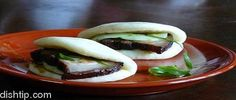 Braised Pork Belly Buns from Myers + Chang  http://www.chowzter.com/fast-feasts/north-america/Boston/review/Myers-Chang/Braised-Pork-Belly-Buns/621_609