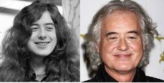 Jimmy Page. That face hasn't changed a bit.