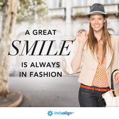 A great smile is always in fashion. #Beauty