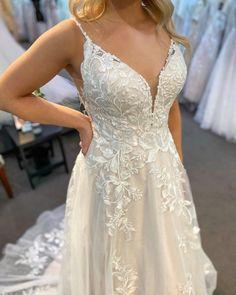 Find Boho Lace Wedding Dresses #MaggieSottero #wedding #weddingdress #weddinginspo #weddinginspiration #bohoweddingdress #laceweddingdress Boho Wedding Dress, Lace Wedding, Bridal Gowns, Wedding Gowns, Blush Gown, Ball Gowns, Tulle, Wedding Inspiration, Party