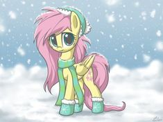 Winter Flutters by LuminousDazzle
