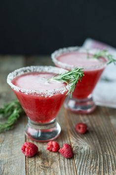 Red Russian with Rosemary Simple Syrup | superman cooks #smirnoff #vodka #cocktail #rosemary #raspberry #simple syrup @smirnoffus