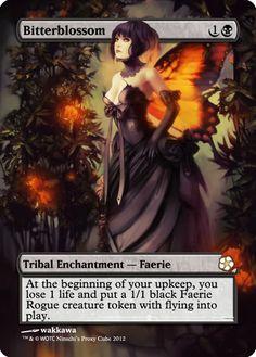Magic The Gathering Bitterblossom Proxy