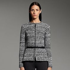 NWT-Narciso-Rodriguez-for-DesigNation-marled-wool-blend-cardigan