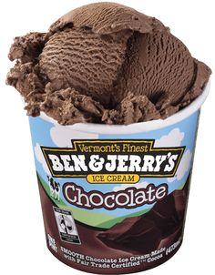 Did you know? Ben & Jerry's chocolate ice cream gets its chocolatey awesomeness from Fairtrade Certified® cocoa. Dig in!