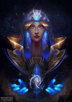 Nut Goddess, Star Goddess, Goddess Art, Egyptian Goddess, Egyptian Art, Egyptian Costume, Egyptian Jewelry, Akali League Of Legends, Ancient Egyptian Religion