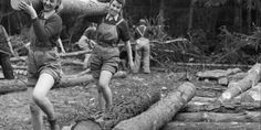 How Thousands of Women Kept The U.K.'s Timber Industry Afloat | Mental Floss UK