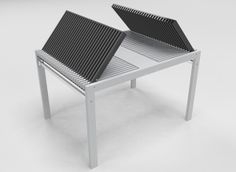 Extendable Table by Daniele Lazzaretti, via Behance