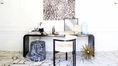 Kelly Wearstler Shares 3 Essentials For a Sexy Desk