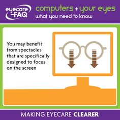 Specs specifically made for computer use can help you see better at work