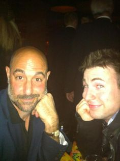 Stanley Tucci & Chris Evans two of our favorites