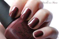 OPI - I'm Fondue of You. I have this on my nails now. Love it!