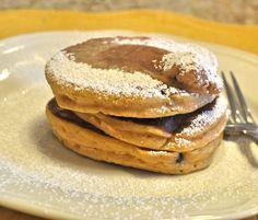 Pumpkin Ricotta Pancakes recipe. Perfect for a fall