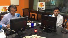 """Sergio Royuela, Director de Inversiones de Feelcapital, junto al periodista económico Rubén Gil en el programa Capital Inter (Intereconomía). """"MiFID II va a provocar una mayor comunicación de las entidades a través de los canales digitales"""", afirmó Royuela. #FondosDeInversión (19 de mayo de 2017)."""