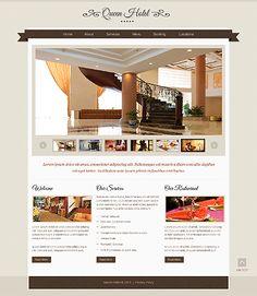 Template 44197 - Hotel  Responsive Website Template