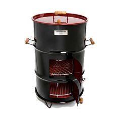 Barbecue Grill, Grilling, Ugly Drum Smoker, Grill Design, Smokehouse, Charcoal Grill, House In The Woods, Stove, Building A House