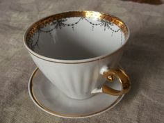 Vintage CollectiblesCup and Saucer Porcelain