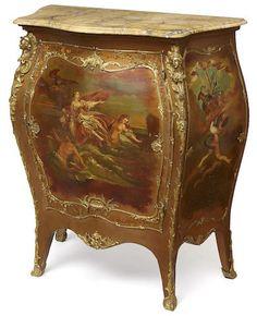 Antique French Furniture, European Furniture, Luxury Furniture, Vintage Furniture, Decoupage Furniture, Furniture Projects, Painted Furniture, Painted Doors, Furniture Inspiration