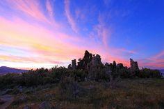 Tufa sunset, Mono Lake, California by Photo Bug TA, via Flickr