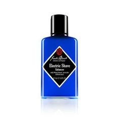 Jack Black Electric Shave Enhancer 3.3 oz by Jack Black. $14.65. What it is:A lightweight, soothing balm that provides superior skin conditioning and promotes a close, easy shave.What it is formulated to do:Designed for use with an electric razor, natural ingredients such as lavender and oat kernel flour soothe skin and reduce razor irritation, and sunflower seed oil and glycerin help condition skin. Gentle, natural astringents work to prep the beard for the closest shave poss...