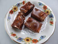 Chocoladefudge met marshmallows
