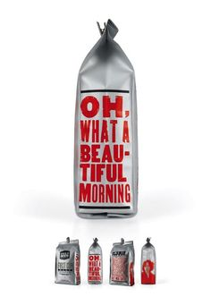Love this #packaging! Always a beautiful morning with Coffee!