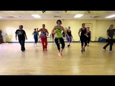 Uptown Funk in Zumba Class with my amazing Zumbies! ❤️ - YouTube