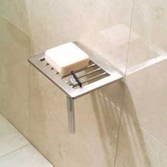 Check out the deal on Ginger - Surface Shower Shelf - Soap Holder at Plumbtile