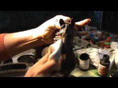 imitación de hierro oxidado 2ª parte - YouTube
