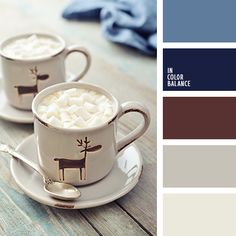 бледно-синий, оттенки шоколадного, подбор цветового решения, светло-синий, светло-шоколадный, цвет черники, черничный синий, черничный цвет, шоколадный цвет, яркий коричневый.