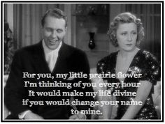 The Awful Truth. I love this movie so much. Old Movies, Great Movies, Old Movie Quotes, The Awful Truth, You Changed, My Life, Faces, Stars, Film