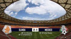 OLANDA - MESSICO 2-1 - MONDIALI BRASILE 2014 - 29-6-2014