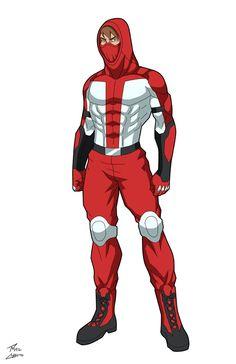 Red Cross commission by phil-cho on DeviantArt Superhero Template, Superhero Design, Marvel Dc, Marvel Heroes, Super Hero Outfits, Super Hero Costumes, Character Concept, Character Art, Character Design