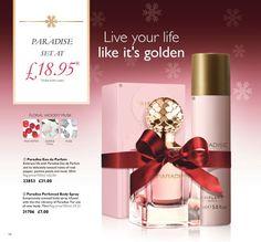 Oriflame Paradise Eau de Parfum +Body Spray Gifts Set