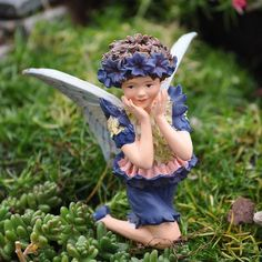 Add An Accent - Cicely Mary Barker - CORNFLOWER - Ornament - Flower Fairy - 86944 Add an Accent http://www.amazon.com/dp/B003FBV4JW/ref=cm_sw_r_pi_dp_qcpItb0SYXPP2RF9