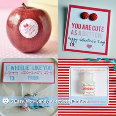 5 CLEVER NONCANDY VALENTINES FOR KIDS