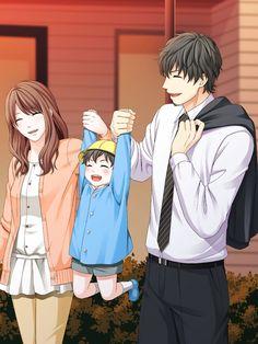 Mamoru Kishi Kissed By The Baddest Bidder Love Trap They are sooooo happy! Anime Cupples, Chica Anime Manga, Fanarts Anime, Otaku Anime, Kawaii Anime, Anime Child, Anime Art Girl, Anime Girls, Anime Love Story