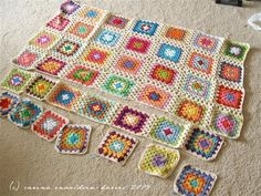 This is by far the easiest to follow and therefore most amazing tutorial on how to join granny squares!!