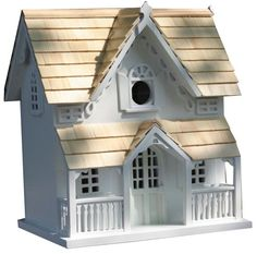 Birdhouses  Gingerbread Cottage Birdhouse Backyard makeover *** This is an Amazon Associate's Pin. Click the VISIT button to enter the website for more info.