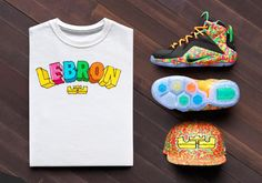 The infamous Fruity Pebbles colorway returns on the LeBron 12 in kids sizes only. Available March 11th.