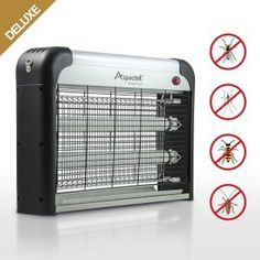 Deluxe ModelAspectek Electronic Bug Zapper Insect Killer Mosquito Control Mosquito Zapper Mosuiqto Killer Fly Zapper Fly Killer for Indoor Residential Commercial -- Read more at the image link. (This is an affiliate link)