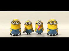 Minion Banana Song the Minions! Minion Banana, Minions Banana Song, Despicable Me 2 Minions, My Minion, Minion School, Minion Games, Minion Rush, Minion Movie, Minion Party