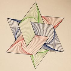 Afbeeldingsresultaat voor string art patterns #artprojects