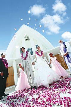 グアムウェディング、グアム挙式ならクチュールナオコ [COUTURE NAOCO]グアム結婚式をトータルプロデュース
