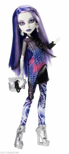 Brand NEW Monster High Picture Day Spectra Vondergeist Doll ........... by Valerie Roe Marketing - Online Promotions & Advertising https://m.facebook.com/ValerieRoeMarketing                                                                                                                                                     More