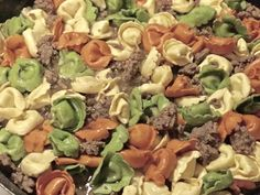 Tortellini and Beef Skillet