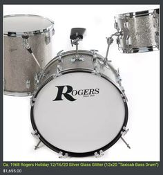 Rogers Drums, Vintage Drums, John Bonham, Drumline, Drum Kits, Drummers, Percussion, Guitars, Bass