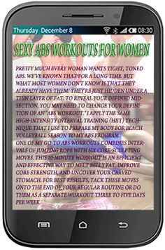 Sexy Abs Workouts for Women<p>Sexy AThis killer ab work out will flatten your tummy - You'll have a tight stomach in just 6 weeks without the need of doing an individual crunch! It is a Cost-free app and these physical exercises when executed day by day w Tight Stomach, Stomach Muscles, Abdominal Muscles, Tummy Workout, Tummy Exercises, Ab Work, Killer Abs, How To Get Abs, Toned Abs